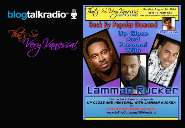 TSVV: Back by Popular Demand: Lamman Rucker