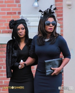 Jasmine Burke and Vanessa Bell Calloway in a scene from the show.