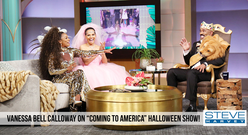 "Steve Harvey Show: ""Coming to America"" Halloween Show"