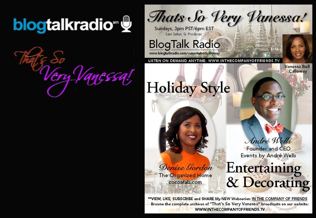 Holiday Style, Entertaining & Decorating