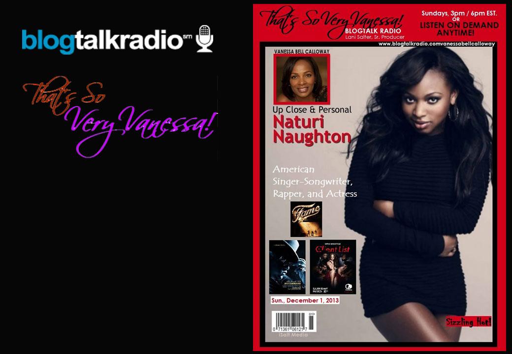 Up Close & Personal With Naturi Naughton