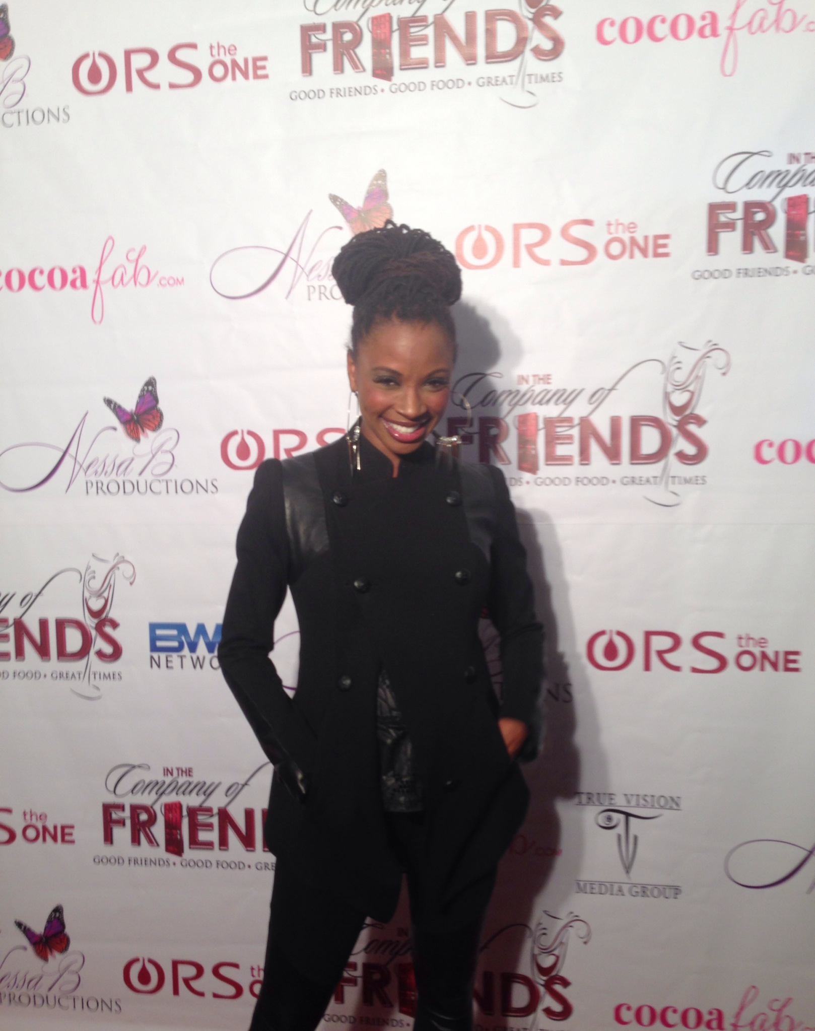 The Beautiful Shanola Hampton at The In The Company Of Friends Premiere