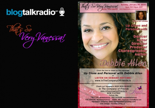 Up Close and Personal With Debbie Allen