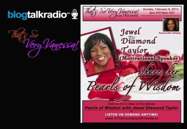 Pearls of Wisdom with Jewel Diamond Taylor
