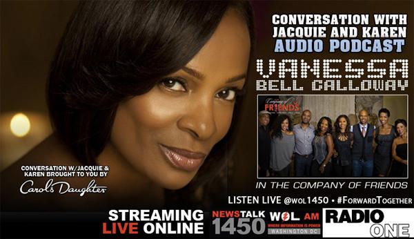 3/12/14: DC Radio Personalities Jacquie and Karen Interview Vanessa Bell Calloway