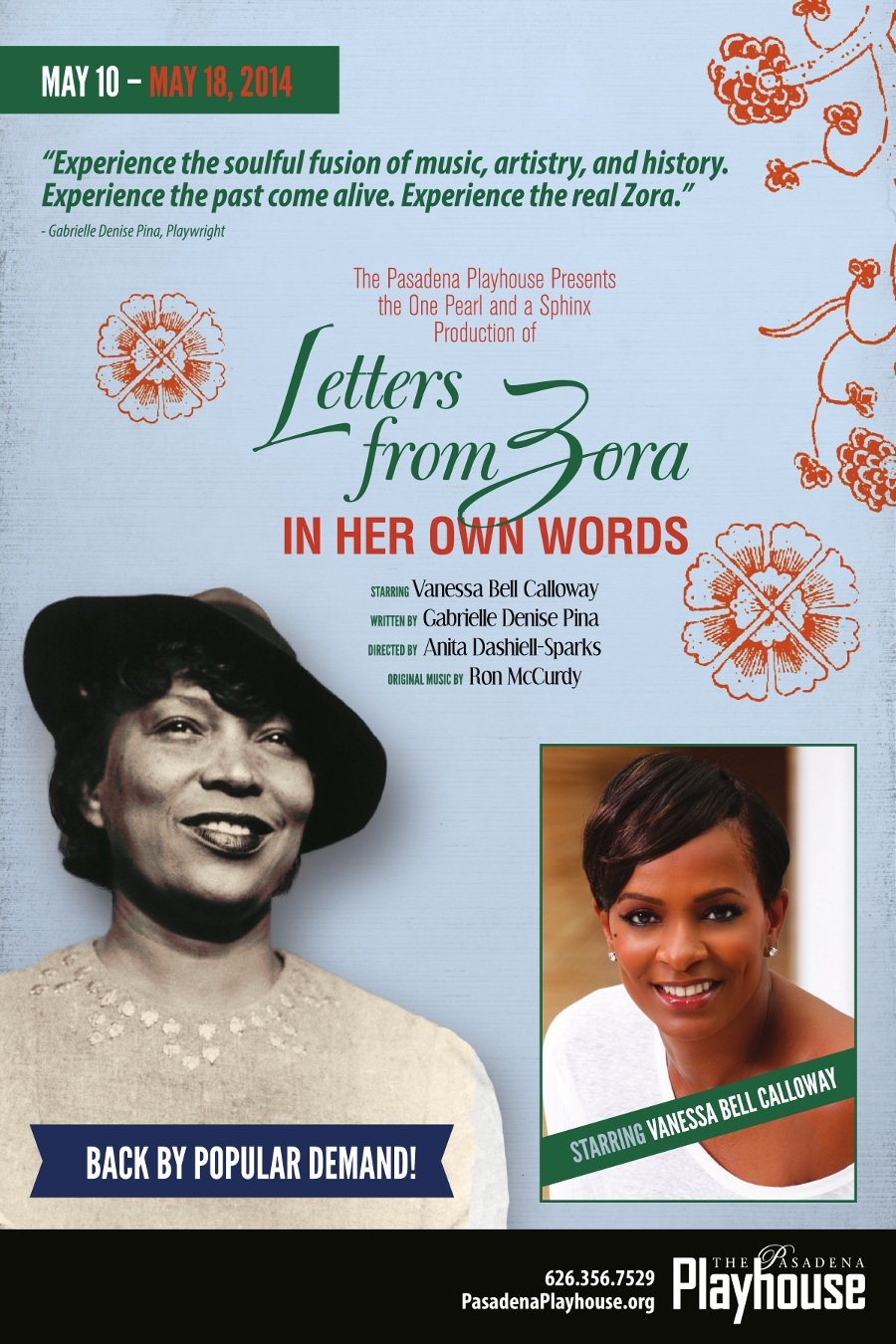 'Letters from Zora' opens to rave reviews!