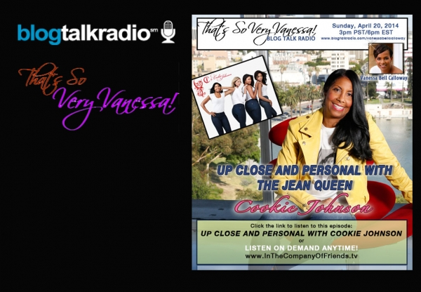 Up Close and Personal with Cookie Johnson: The Jean Queen!