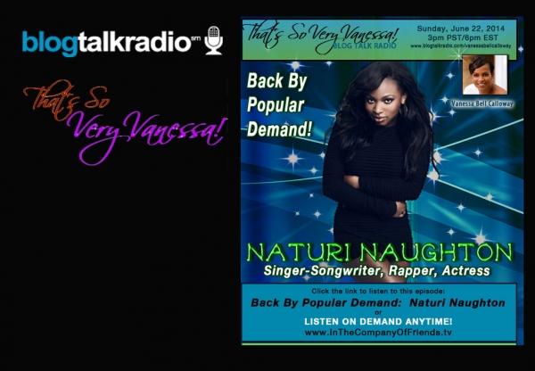 TSVV: Back By Popular Demand Naturi Naughton