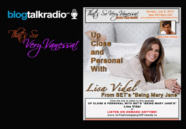 "TSVV: Up Close and Personal with Lisa Vidal of ""Being Mary Jane"""