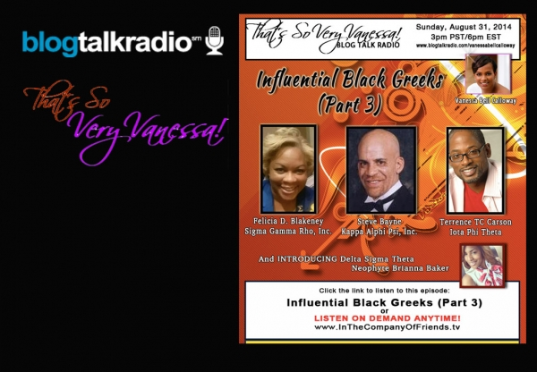 TSVV: Influential Black Greeks, Part 3