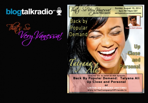 TSVV: Back By Popular Demand- Tatyana Ali