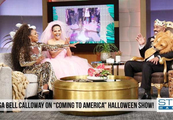"Steve Harvey Show: ""Coming to America"" Halloween Show"